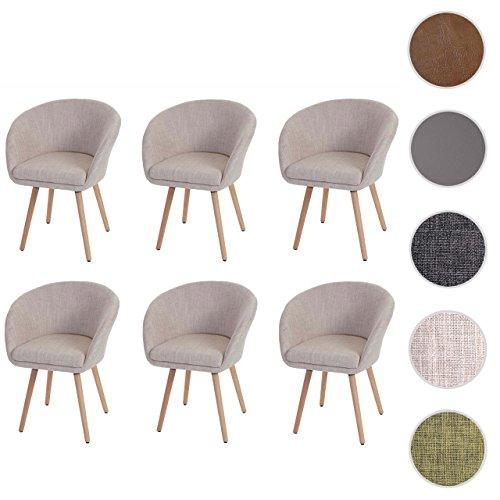 6x esszimmerstuhl malm t633 stuhl lehnstuhl retro 50er. Black Bedroom Furniture Sets. Home Design Ideas