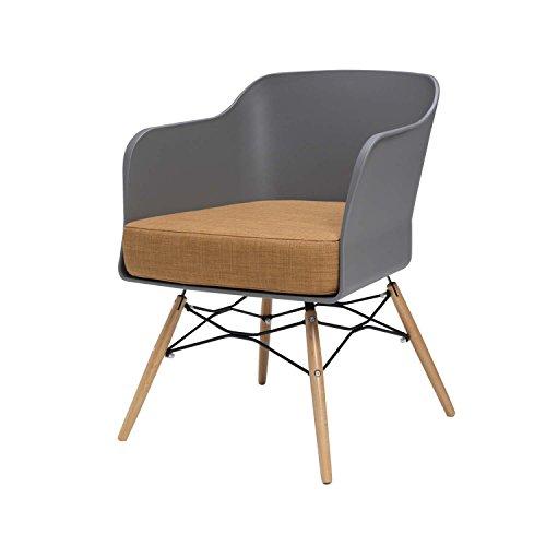 BUTIK Design Esszimmerstuhl Cooper, 4-er Set, 77 x 61 x 49 cm