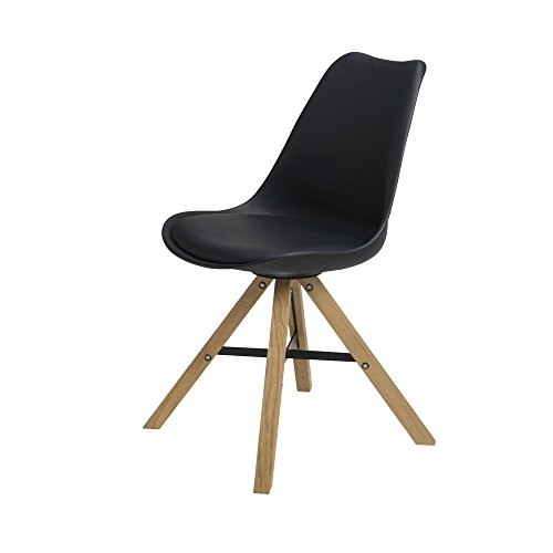 BUTIK Moderner Design Esszimmerstuhl Consilium Trent Eichenholz, 6-er Set, 83 x 48 x 39 cm