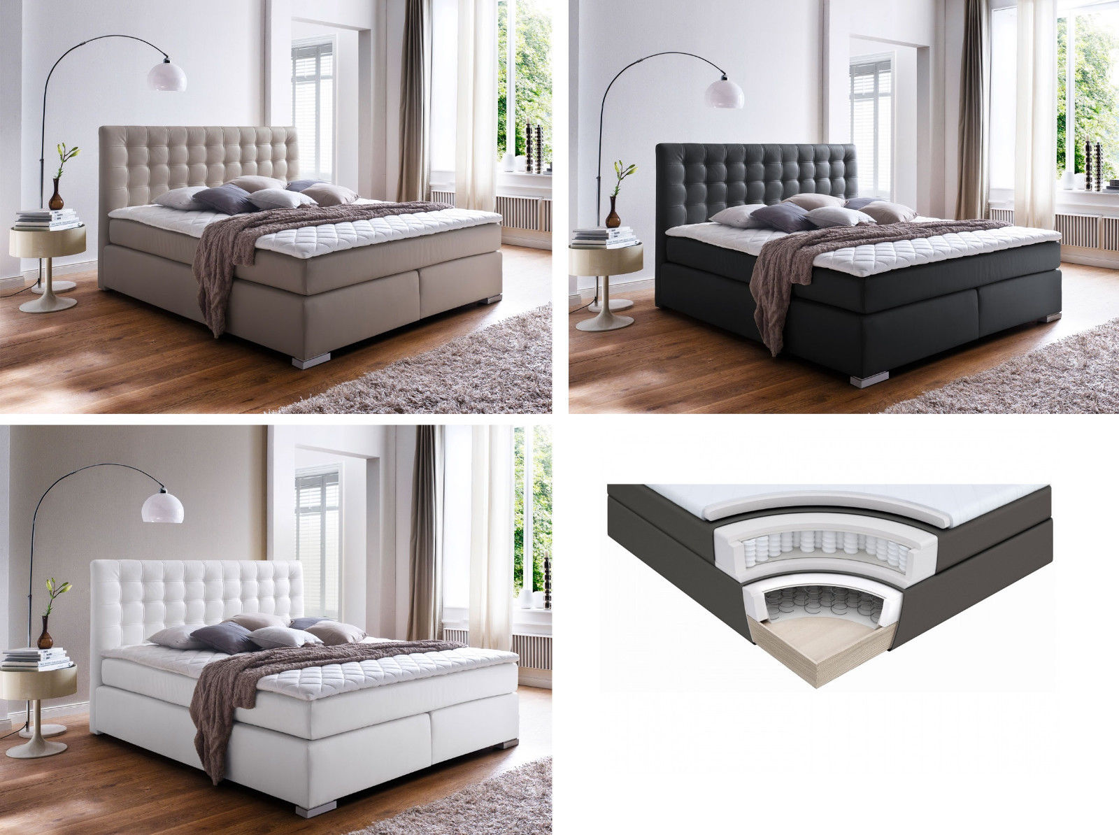 boxspringbett boxspring boxspringbetten design bett hotelbett kunstleder isabell retro stuhl. Black Bedroom Furniture Sets. Home Design Ideas