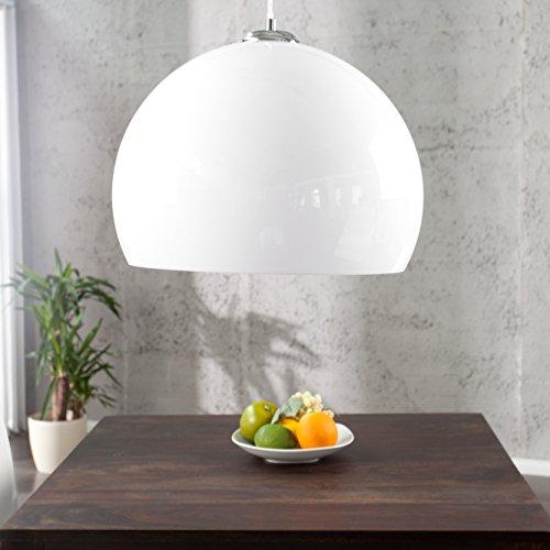cag design h ngelampe globus weiss 40cm retro stuhl. Black Bedroom Furniture Sets. Home Design Ideas