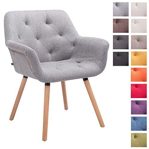 clp esszimmerstuhl cassidy mit stoffbezug und sesself rmigem gepolstertem sitz retro stuhl mit. Black Bedroom Furniture Sets. Home Design Ideas