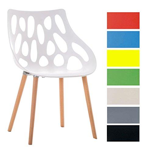 clp design retro stuhl hailey materialmix kunststoff. Black Bedroom Furniture Sets. Home Design Ideas