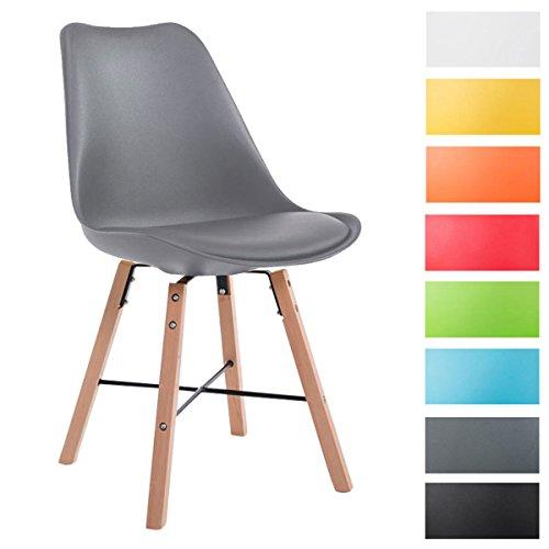 clp design retrostuhl laffont mit kunstlederbezug und hochwertiger polsterung lehnstuhl mit. Black Bedroom Furniture Sets. Home Design Ideas