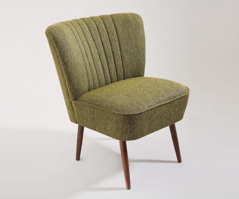 cocktailsessel 50er jahre retrosessel beine hell gr n meliert neu retro stuhl. Black Bedroom Furniture Sets. Home Design Ideas