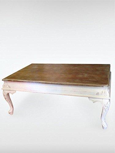 Design Vintage Couchtisch Lyon Antik Tisch Buchenholz 115