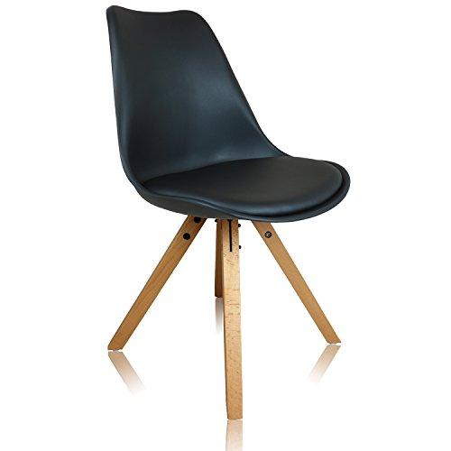 Designerstuhl ITALIA No 4 Holzgestell Stuhl