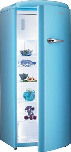 Gorenje Kühlschrank / A++ / 196 kWh/Jahr / Kühlteil: 255 L / Gefrierteil: 26 L / dark chocolate / Umluft-Kühlsystem mit Quick Cooling Funktion / Türanschlag rechts