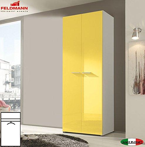 kleiderschrank schlafzimmerschrank 55035 2 t rig wei. Black Bedroom Furniture Sets. Home Design Ideas