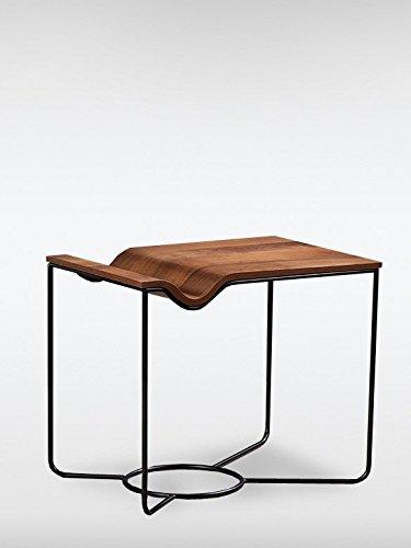 Modern designer vintage beistelltisch nelson braun tisch for Designer beistelltische metall