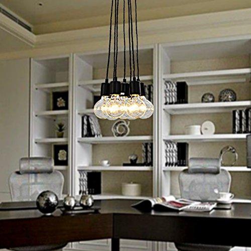 OOFAY LIGHT 40w e27 minimalistische Pendelleuchte mit 7 Lichtern