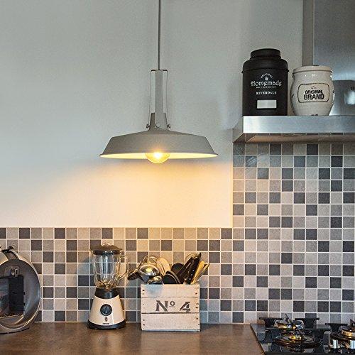 qazqa industrie industrial modern retro esstisch esszimmer pendelleuchte. Black Bedroom Furniture Sets. Home Design Ideas
