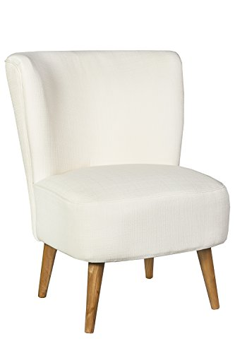 Sessel Stuhl Loungesessel creme weiss *444