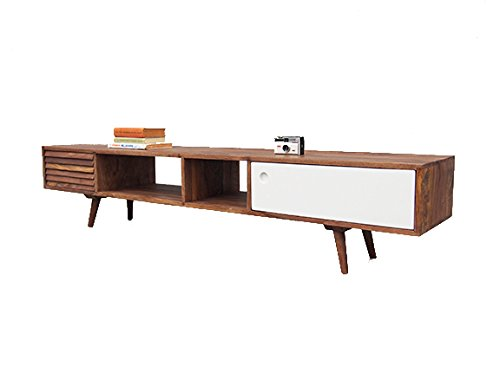 sideboard retro oslo tv board sheesham massivholz 180 retro stuhl. Black Bedroom Furniture Sets. Home Design Ideas
