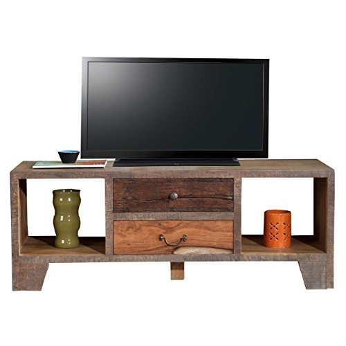tv board lowboard tv bank taarbek holz massivholz recyclingholz altholz retro beige braun. Black Bedroom Furniture Sets. Home Design Ideas