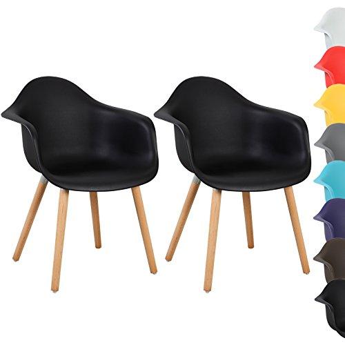 WOLTU® #469 Design Barhocker Barstühle Barstuhl Bar Hocker Kunstleder stufenlose Höhenverstellung verchromter Stahl Antirutschgummi pflegeleichter PVC Kunstleder gut gepolsterte Sitzfläche
