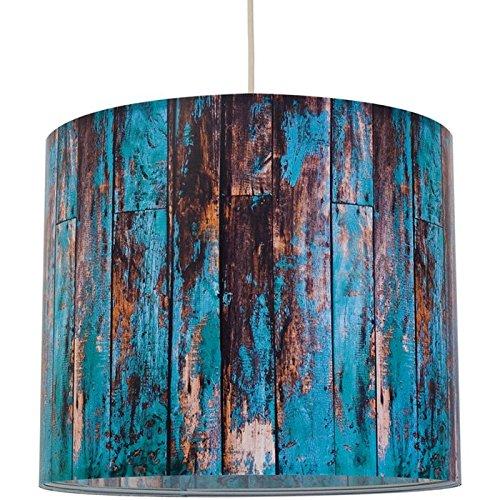 anna wand lampenschirm wood t rkis schirm f r lampen mit. Black Bedroom Furniture Sets. Home Design Ideas
