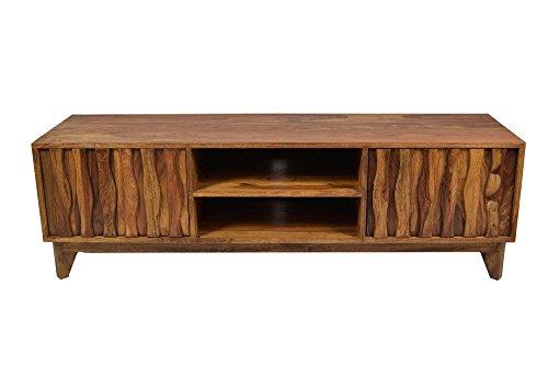 TV Board Sideboard Retro Plasma Mid Century Massivholz Sheesham Lowboard Fernsehschrank Tv Tisch