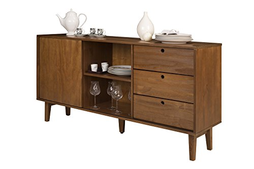 buffetschrank sideboard bar charme retro mit schubladen. Black Bedroom Furniture Sets. Home Design Ideas
