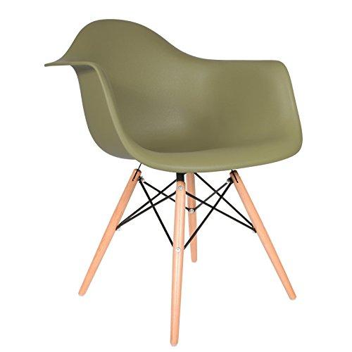 Daw stuhl milit rgr n natur retro stuhl for Design stuhl eiffel