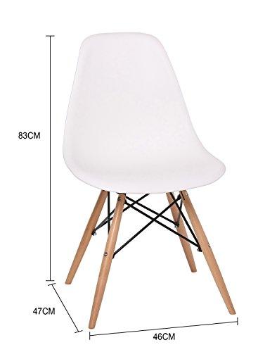 stuhl ims weiss 4xst hlen mehr farben sklum retro stuhl. Black Bedroom Furniture Sets. Home Design Ideas
