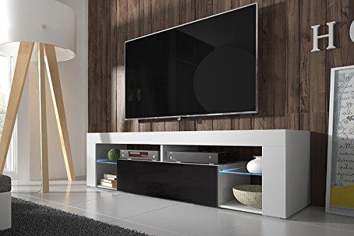 tv schrank lowboard sideboard tisch m bel board huron. Black Bedroom Furniture Sets. Home Design Ideas