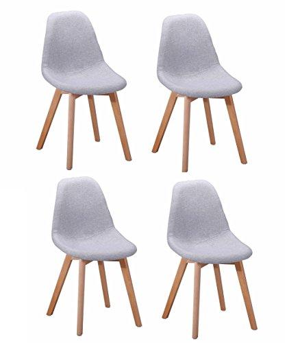 4 st ck st hle teppichfl chen modernes design sitzfl che. Black Bedroom Furniture Sets. Home Design Ideas