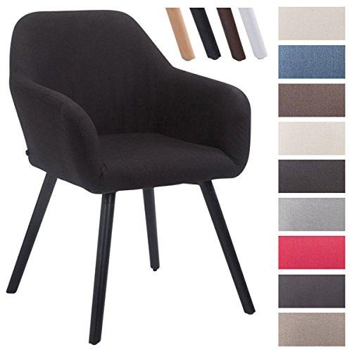 clp esszimmerstuhl achat v2 mit stoffbezug polsterstuhl mit armlehne sitzfl che gepolstert. Black Bedroom Furniture Sets. Home Design Ideas