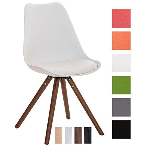 Clp design retro stuhl pegleg mit hochwertiger polsterung for Schalenstuhl design
