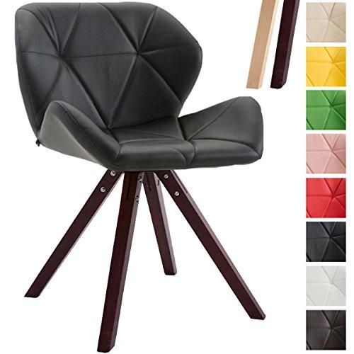 clp design retro stuhl tyler bein form square kunstleder. Black Bedroom Furniture Sets. Home Design Ideas