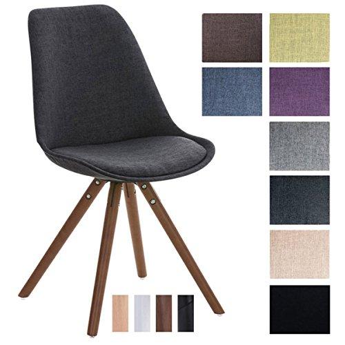clp design stuhl pegleg mit stoffbezug gepolsterter schalenstuhl mit holzbeinen und einer. Black Bedroom Furniture Sets. Home Design Ideas