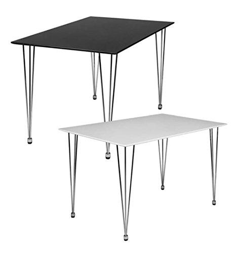 Design esstisch oslo 120 x 80 x 76 cm form rechteckig for Esstisch retro design