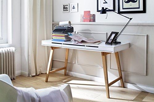 """Schreibtisch Sekretär Konsole """"Dream L"""" 140x58x78 cm Massivholz Beine"""