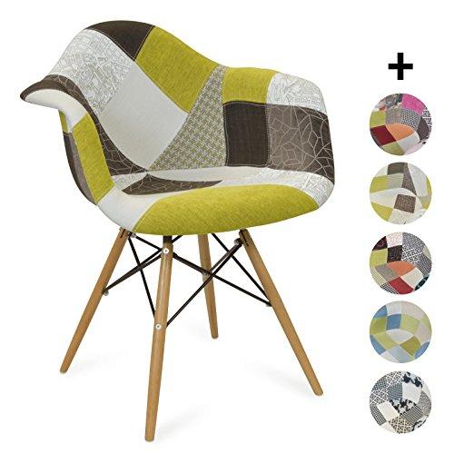 stuhl senf natur retro stuhl. Black Bedroom Furniture Sets. Home Design Ideas