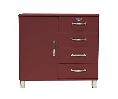 tenzo 5235 035 malibu designer kommode sideboard holz marsala 41 x 98 x 92 cm retro stuhl. Black Bedroom Furniture Sets. Home Design Ideas