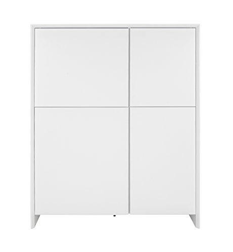 tenzo 5934 001 profil designer schrank highboard 150 x 120 x 47 cm wei retro stuhl. Black Bedroom Furniture Sets. Home Design Ideas