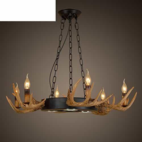 dorf wohnzimmer esszimmer vintage lampe schpferische persnlichkeit geweih kronleuchter a 0. Black Bedroom Furniture Sets. Home Design Ideas