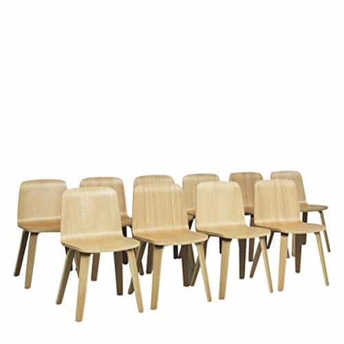 normann copenhagen just chair oak oak oak retro stuhl. Black Bedroom Furniture Sets. Home Design Ideas