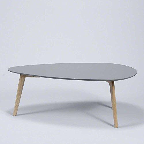 Wohnzimmertisch in grau eiche retro design breite 100 cm for Wohnzimmertisch 50 cm