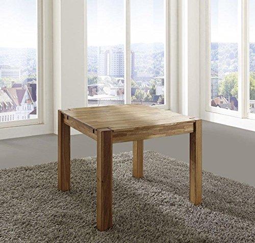 OAKY Esstisch Tisch 80x80 Wildeiche massiv geölt