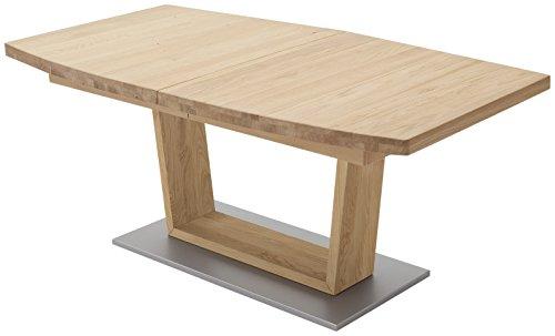 Robas Lund Tisch Esstisch Massivholztisch Cantania Eiche Wildeiche 180 x 100 x 77 cm