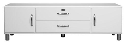 Tenzo 5156-005 Malibu - Designer Lowboard 54 x 182 x 44 cm, MDF lackiert, weiß