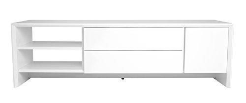 Tenzo 5944-001 Profil Designer TV Bank, 44 x 150 x 47 cm, weiß