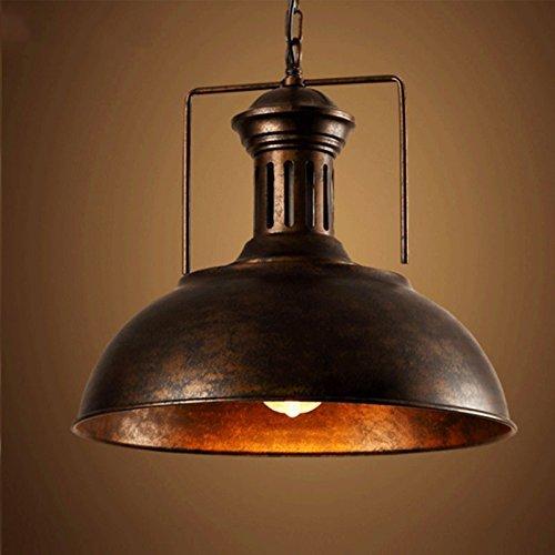 Vintage Pendelleuchte, Frideko Industrieleuchte mit rustikalem Dome / Schüsselanordnung in Kupfer für Loft Wohnzimmer Esszimmer Cafeteria Restaurant