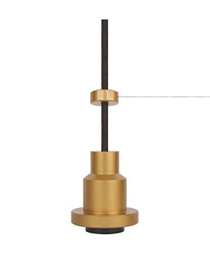 Osram Vintage Edition 1906, Pendulum, gold, E27- Fassung, Deckenleuchte, flexibles Zugseilsystem, IP20, Gehäuse aus Aluminium