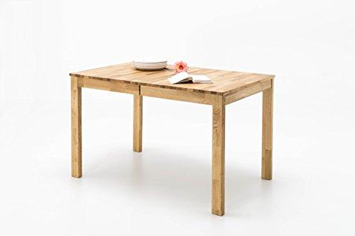 Tisch, Esstisch, Esszimmertisch, Küchentisch, Massivholztisch, ausziehbar, Ausziehtisch, Wildeiche, Mittelauszug