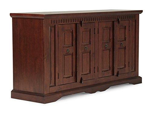massivum Sideboard Antonio 170x90x50 cm Pinie braun gebeizt und lackiert
