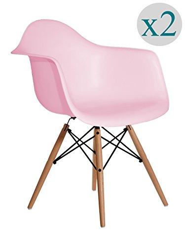 Aryana Home Eames Replik–Set Stühle, 59x 62x 82,50cm