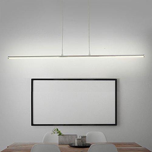 N3 Lighting Moderne LED Pendelleuchte in Blütenform Dimmbar Stufenlos Höhenverstellbar Leuchte Inkl. 230V Hängelampe Deckenleuchte LED Wohnzimmerlampe Esszimmer Schlafzimmerleuchte Hotel Chrom Farbe Elegantes warmes Lich