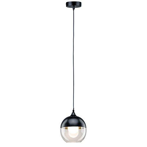 Paulmann 79645 Neordic Vanja Pendelleuchte max.1x20W E27 Grau/Klar 230V Glas/Metall